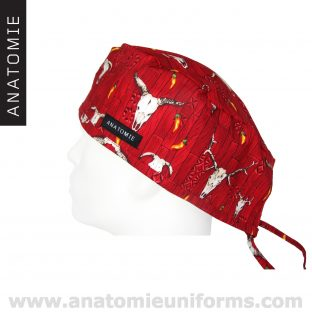 Gorros Cirugia ANATOMIE Western Rojo ANA046