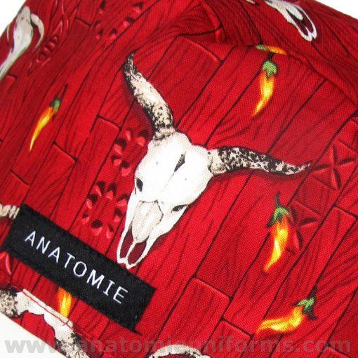 Gorros Cirugia ANATOMIE Western Rojo ANA046b