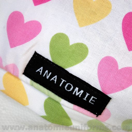 Gorros Quirofano Mujer ANATOMIE Classic Corazones ANA1058