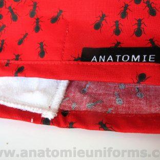 Gorros para Quirofano Tela Roja Hormigas ANA052a