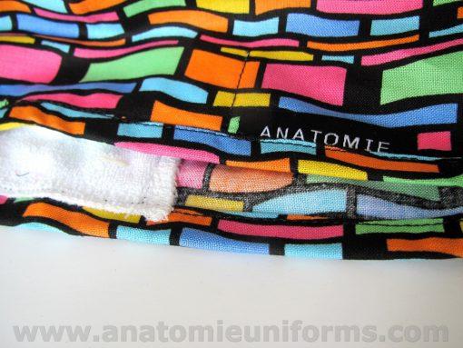 Gorros para medicos abstractos divertidos coloridos ANA062a