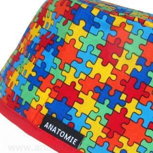 Gorros Quirofano Puzzle Mil Piezsas - 0107b