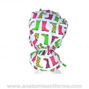 Rear view of the Surgical Cap Big Hair ANATOMIE Classic ANA1037b