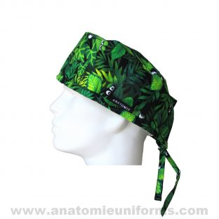 Surgical Caps Frogs Eyes Jungle ANA019