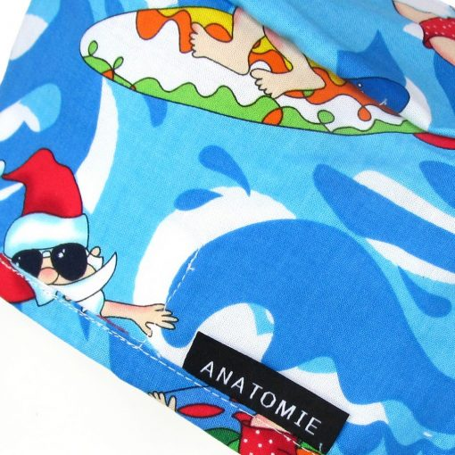 Gorros Sanitarios uirofano Azules Santa Claus ANA053