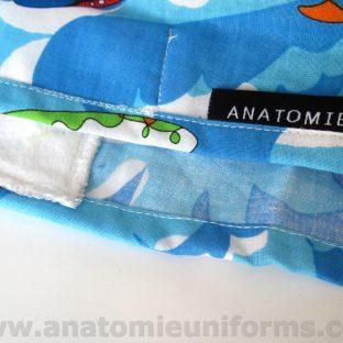 Gorros para el Quirofano Azules Santa Claus ANA053a