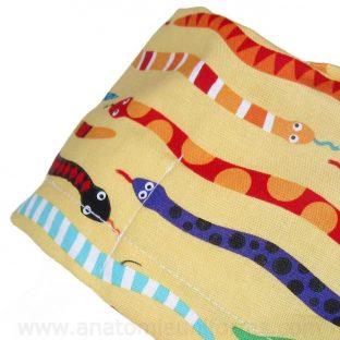 Gorros Quirofano Amarillos Serpientes - 1103a