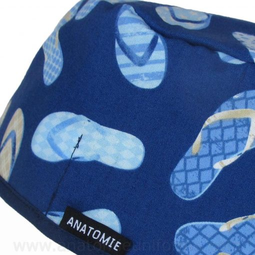 Gorros Quirofano Azules Sandalias - 0112b