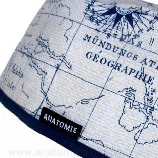 Gorros Quirofano Mapa Mundi Navegación - 0122b